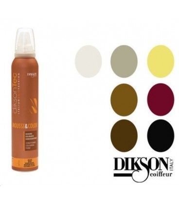 Dikson Mousse & Color Grigio Topo 200 ml