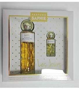 Saphir Cool Edp 200 ml + 25 ml