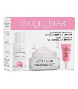 CollistarTry-Me Kit idratazione Intensa per Pelli Normali e Sensibili Crema 30 ml + Latte Micellare 35 ml + Hydro-Gel Occhi 5 ml