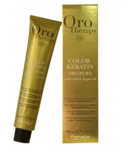 Färben Fanola Oro Puro Color Keratin 6.00 Dunkelblond Intensiv