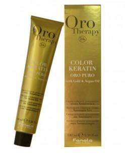 Färben Fanola Oro Puro Color Keratin 6.34