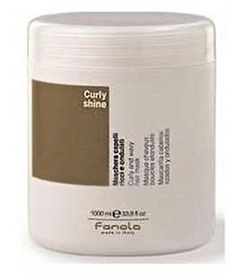 Fanola Curly Shine Maske Lockiges Haar und Gewelltes 1000 gr
