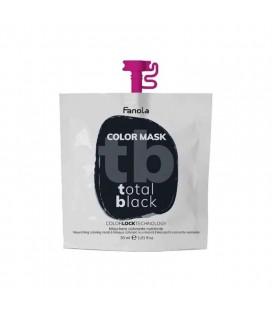 Fanola Color Mask Total Black - Maschera Colorante Nutriente 30 ml