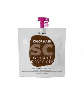 Fanola Color Mask Sensual Chocolate - Maschera Colorante Nutriente 30 ml
