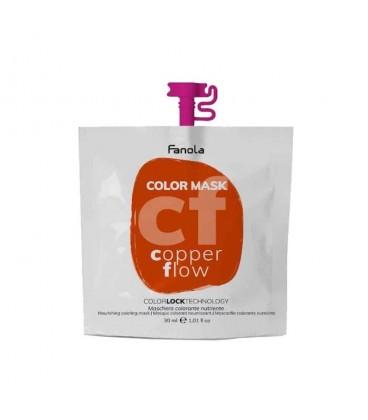 Fanola Color Mask Copper Flow - Maschera Colorante Nutriente 30 ml