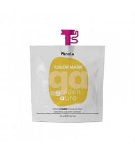 Fanola Color Mask Golden Aura - Maschera Colorante Nutriente 30 ml