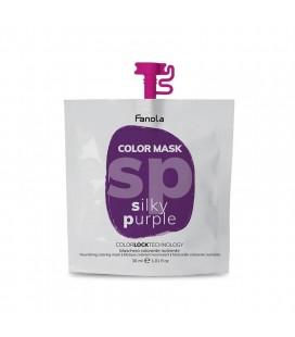 Fanola Color Mask Silky Purple - Maschera Colorante Nutriente 30 ml