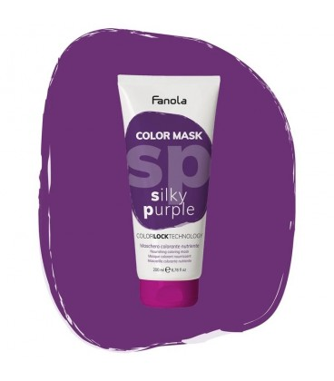 Fanola Color Mask Silky Purple - Maschera Colorante Nutriente 200 ml