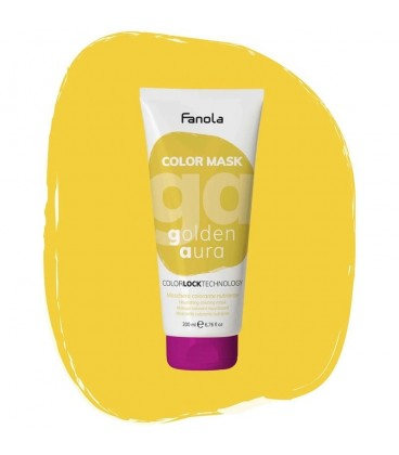 Fanola Color Mask Golden Aura - Maschera Colorante Nutriente 200 ml