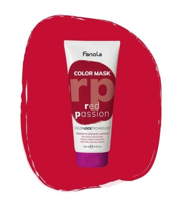 Fanola Color Mask Red Passion - Maschera Colorante Nutriente 200 ml