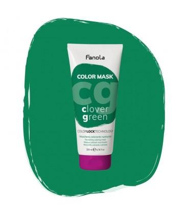 Fanola Color Mask Clover Green - Maschera Colorante Nutriente 200 ml
