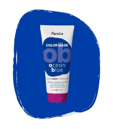 Fanola Color Mask Ocean Blue - Maschera Colorante Nutriente 200 ml