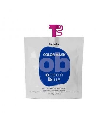 Fanola Color Mask Ocean Blue - Maschera Colorante Nutriente 30 ml