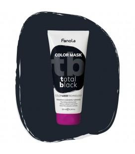 Fanola Color Mask Total Black - Maschera Colorante Nutriente 200 ml