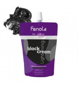Fanola No Yellow Color Black Lightening Crema Decolorante Nera 500 gr.