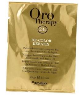 Fanola Oro Therapy polvere decolorante compatta blu 75 gr