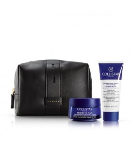 Collistar Cofanetto Regalo Perfecta Plus Crema Perfezione Viso Collo 50 ml + Crema Mani Unghie Riparatrice 50 ml + Beauty Bag Ne
