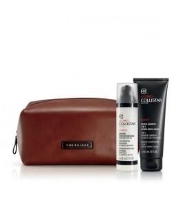 Collistar Uomo Cofanetto Regalo Idratante Protettivo Quotidiano 80 ml+ Doccia Shampoo 3 in 1+ Travel Bag The Bridge