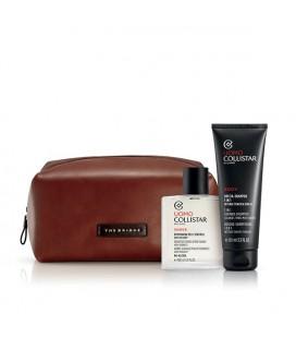 Collistar Uomo Cofanetto Regalo Dopobarba Pelli Sensibili 100 ml+ Doccia Shampoo 3 in 1 100 ml+ Travel Bag The Bridge