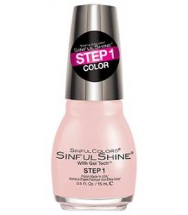 Allur Smalto Shine - 2 steps manicure 1615 I'm blushing