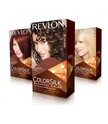 Revlon Colorsilk Shampoo, Farbe, Ohne Ammoniak 10 Schwarz