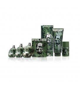 POLICE TO BE CAMOUFLAGE EDT 40 ML + D.S 100 ML