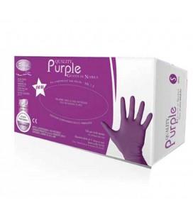 Ro.Ial. guanti purple in nitrile non talcati tg M 100 pz