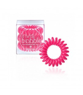 Invisi Bobble 3 Hair Rings Rosa medio