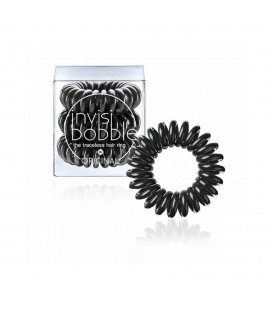 Invisi Bobble 3 Hair Rings Nero medio