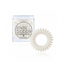 Invisi Bobble 3 Hair Rings Bianco medio