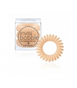 Invisi Bobble 3 Hair Rings Beige medio