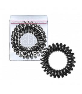 Invisi Bobble 3 Hair Rings Nero Grande