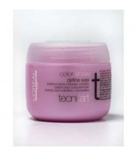 L'Oreal Tecni Art color show define wax