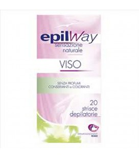 EPIL WAY STRISCE DEPILATORIE VISO