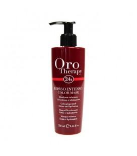 Fanola Oro Therapy Farbigen Maske Rot-Intensiv 250 ml