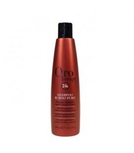 Shampoo Fanola Oro Therapy Rubino Puro 300 ml.