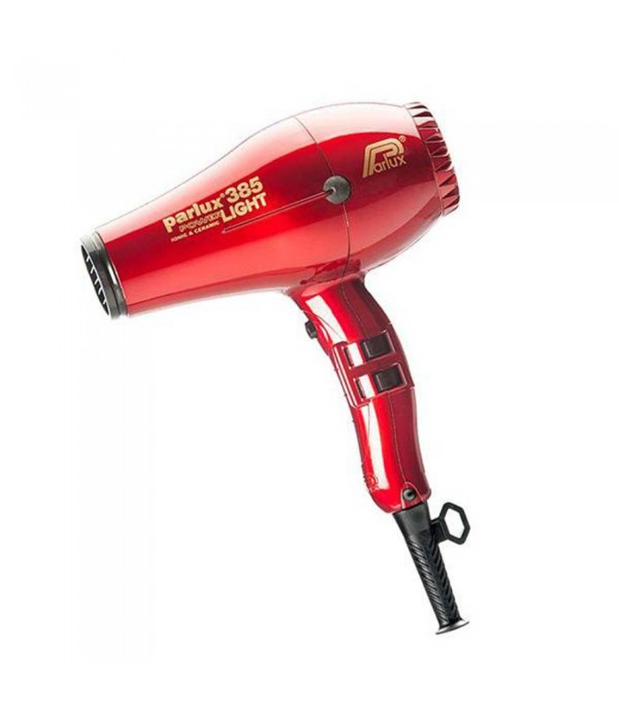 Parlux Asciugacapelli 385 Power Light Ionic e Ceramic Rosso