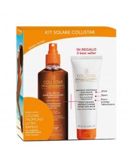 Collistar Kit Solare Olio secco superabbronzante idratante 200 ml + Trattamento Doposole 100 ml
