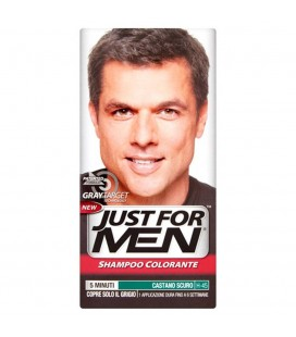 JUST FOR MEN CASTANO SCURO NATURALE