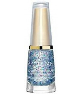 Collistar Smalto&Top Coat Effetto Paillettes 645 Turchese