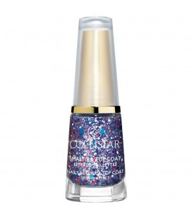 Collistar Smalto&Top Coat Effetto Paillettes 646 Blu
