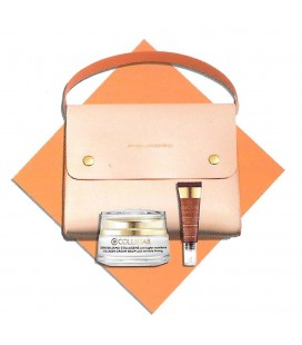 Collistar Kit Pochette Piquadro - Crema Balsamo Collagene 50 ml + Contorno Occhi Acido Ialuronico 7,5 ml