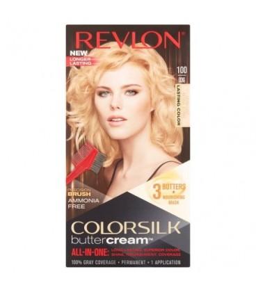 Revlon Colorsilk All-in-one-Shampoo, Farbe, Ohne Ammoniak 100 Blonde, natürliche Extra-Klar