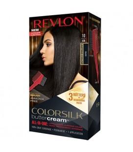 Revlon Colorsilk All-in-one-Shampoo, Farbe, Ohne Ammoniak 10 Schwarz