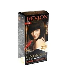 Revlon Colorsilk All in one Shampoo Colore Senza Ammoniaca 40 Castano Scuro