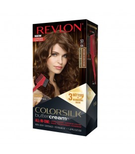 Revlon Colorsilk All in one Shampoo Colore Senza Ammoniaca 53 Castano Medio Dorato