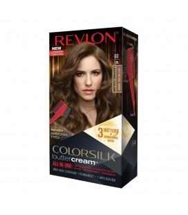 Revlon Colorsilk All in one Shampoo Colore Senza Ammoniaca 60 Castano Chiaro Naturale