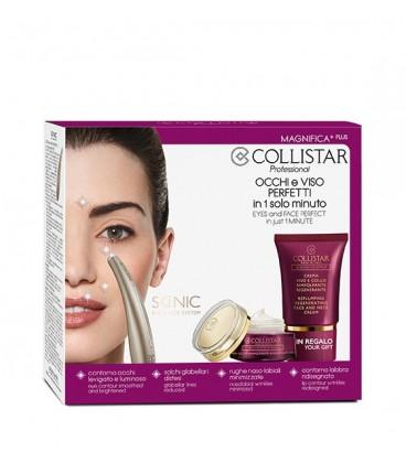 Collistar Speciale MAgnifica - Crema Occhi Rimpolpante Rigenerante 15 ml + Sonic Eye and Face System + Crema Viso Rimpolpante Ri
