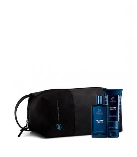 Collistar Travel Bag Piquadro Kit Vetiver Fortr Edt 50 ml + Doccia Shampoo 50 ml